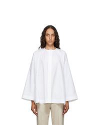 Arch The White Collarless Shirt