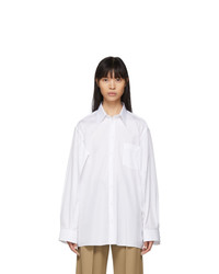 Maison Margiela White Double Arm Shirt