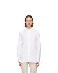 Isaia White Dress Shirt