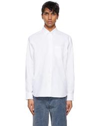 Noah White New Order Edition Oxford Shirt