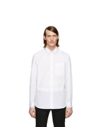 Burberry White Oxford Shirt
