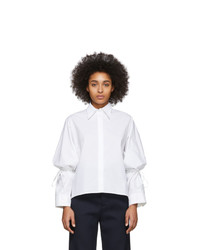 MM6 MAISON MARGIELA White String Shirt