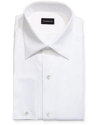 Ermenegildo Zegna Woven Pique Tuxedo Shirt