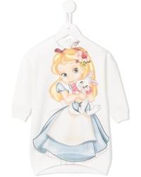 MonnaLisa Alice In Wonderland Sweatshirt Dress