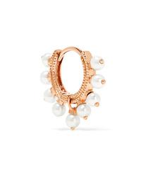 Maria Tash 65mm 18 Karat Gold Pearl Earring