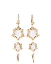 Stephen Webster Crystal Haze Quartz And Diamond Drop Earrings