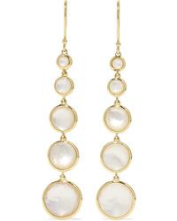 Ippolita Lollipop Lollitini 18 Karat Gold Mother Of Pearl Earrings
