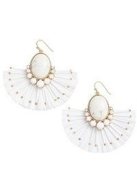 Kate Spade New York Fiesta Fringe Drop Earrings