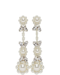 Simone Rocha Off White Victorian Earrings