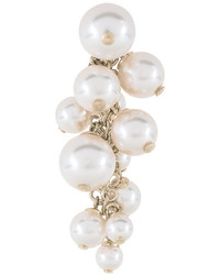 Lanvin Pearl Cluster Drop Earrings
