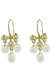 Ten Thousand Things Tiny Victorian Pearl Dangle Earrings