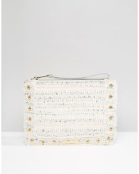 Juicy Couture Tweed Pouch Pastel Tweed