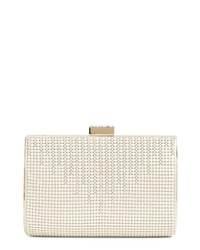 Whiting & Davis Diamond Drips Evening Clutch
