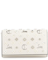 Paloma fold over embellished clutch bag medium 3995179