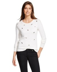 Merona Embellished Pullover Sweater Tm