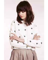 Dahlia Joanne Quilted Sweatshirt