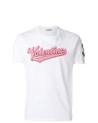 Valentino Logo Appliqu T Shirt