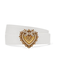 Dolce & Gabbana Embellished Leather Belt
