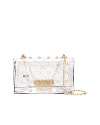 Zac Zac Posen Earthette Quilted Pearl Lady Shoulder Bag