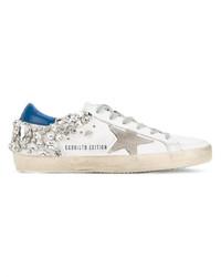Crystal embellished superstar sneakers medium 3641500