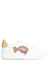 Casadei Fish Appliqu Sneakers