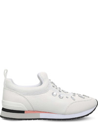 Tory Burch Laney Leather Trainers