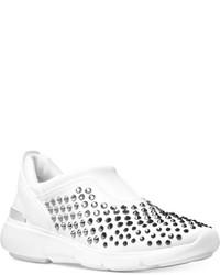 MICHAEL Michael Kors Michl Michl Kors Ace Trainer Embellished Slip On Sneakers