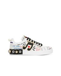 Dolce & Gabbana Portofino Appliqu Sneakers