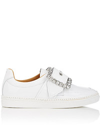 Maison Margiela Oversized Buckle Patent Leather Sneakers