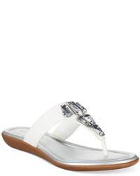Bandolino Jesane Embellished Thong Sandals