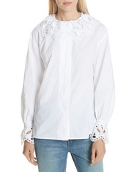 Sandro Cotton Blouse
