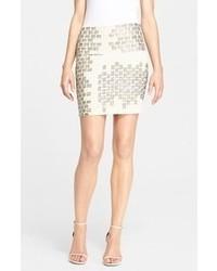 Embellished miniskirt medium 60827