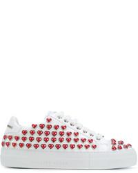 Philipp Plein Lo Top Georgia Embellished Sneakers