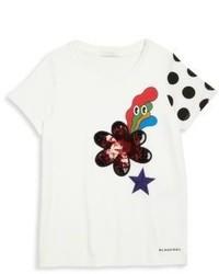 Burberry Little Girls Girls Embellished T Shirt