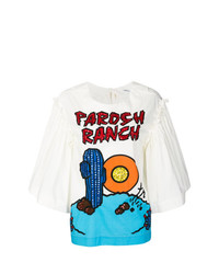 Parosh ranch blouse medium 7745210