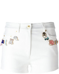 Moschino Embellished Shorts