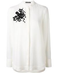 Alexander McQueen Octopus Embellished Shirt