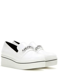 Stella McCartney Embellished Platform Slip On Sneakers