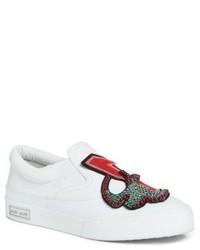 Miu Miu Embellished Slip On Sneaker