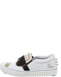 Fendi Karlito Slip On Sneakers