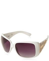 XOXO Cleopatra Iridium Oversized Sunglasses