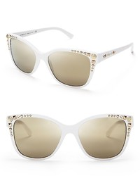 Studded mirror wayfarer sunglasses medium 115868