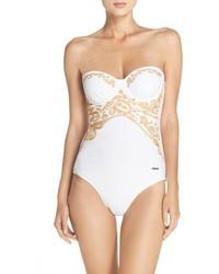 Ted Baker London Embellished Cornelli Swimsuit