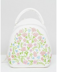 Asos Mini Embroidered Backpack