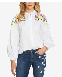 CeCe Embroidered Shirt