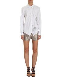 Maiyet Embroidered Point Collar Shirt