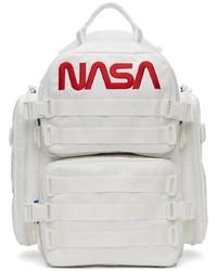 Balenciaga White Space Backpack