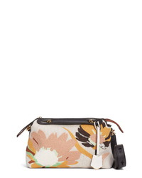 Fendi Medium By The Way Embroidered Canvas Satchel