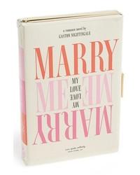 kate spade new york Wedding Bells Book Emanuelle Box Clutch