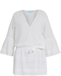 Melissa Odabash Victoria Embroidered Cover Up